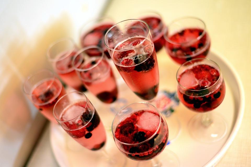 Pour des dîners élégants: Le verre à vin rouge!